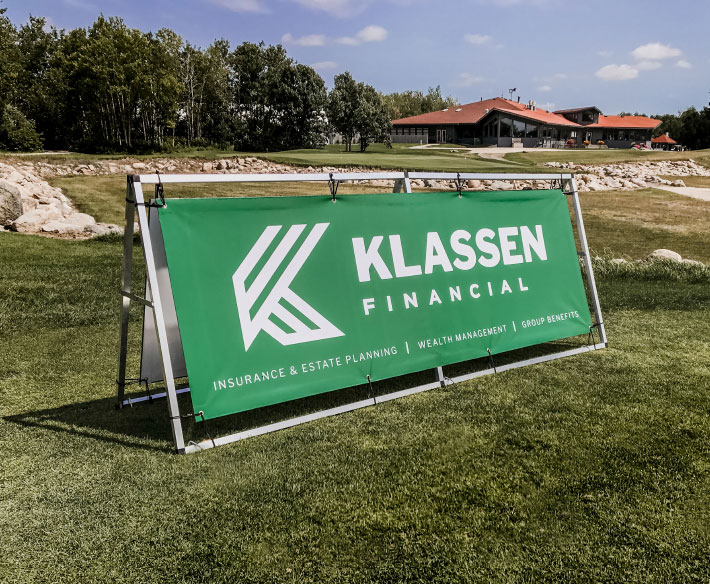 Klassen Financial Banners