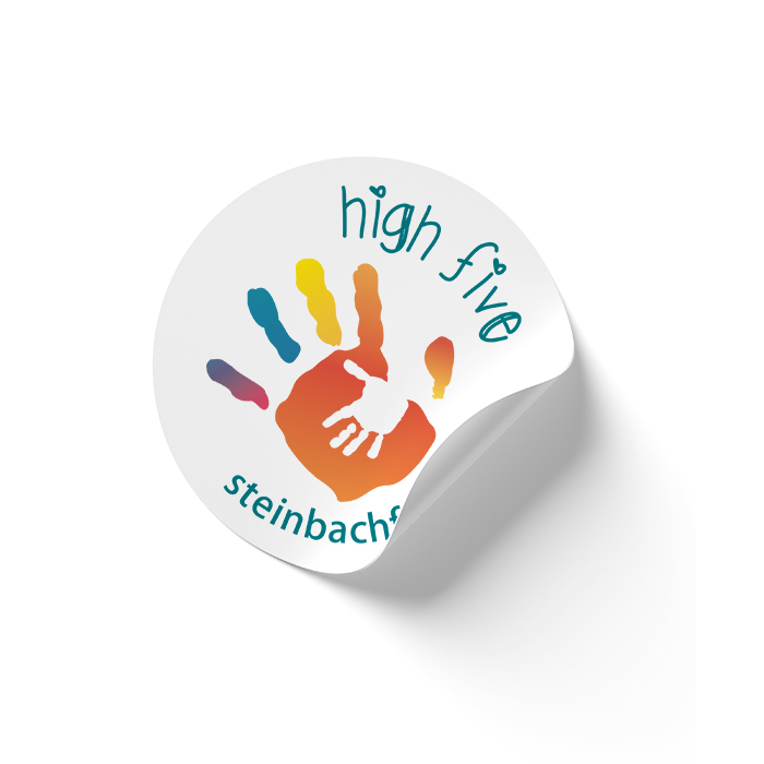 High Five Steinbach Family Resource Centre Sticker